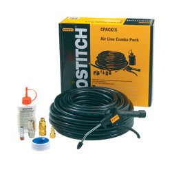 CPACK15 15M Hose with connectors, oil and blowgun